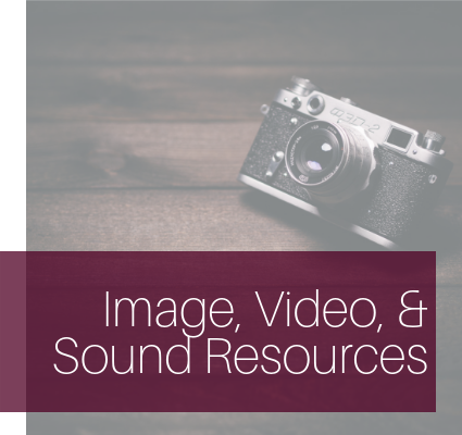 Image, Video, & Sound Resources
