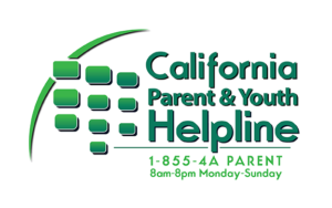 CA parent and youth helpline 855-427-2736