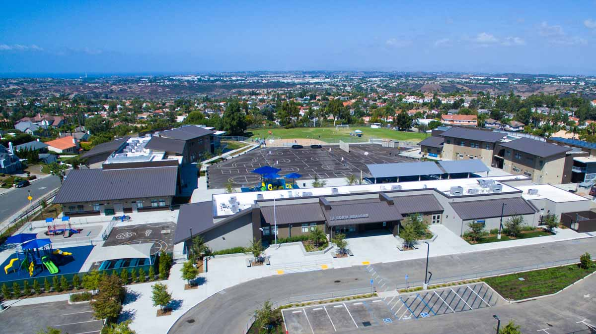 Aeriel photo of La Costa Meadows Elementary School