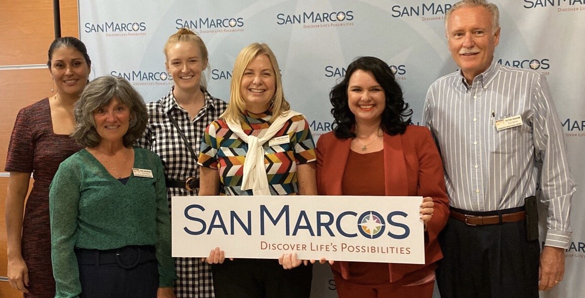 SMUSD Board Members and our Superintendent at the City of San Marcos State of Your Community Address.
